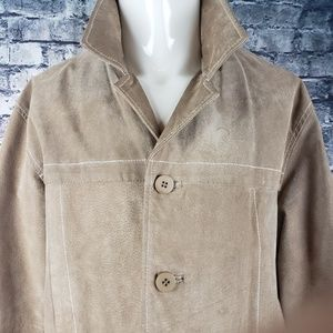 Wilson Leather Vintage Suede Coat, XL